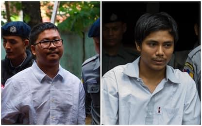 Birmania, confermata condanna a 7 anni per i due giornalisti Reuters