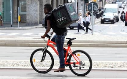 Tribunale di Milano commissaria Uber Italy per caporalato sui rider