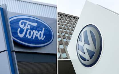 Volkswagen e Ford alleate per la produzione di veicoli commerciali