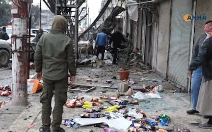 Siria, attentato kamikaze: 16 morti, 4 sono americani