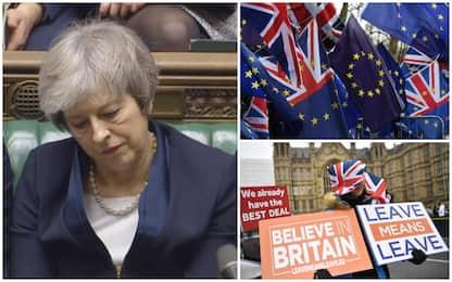 Brexit, Parlamento boccia accordo con Ue. Oggi voto di sfiducia su May