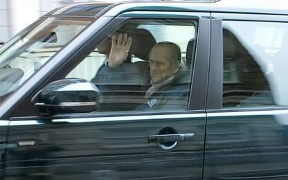 Il principe Filippo si scusa con la donna ferita nell'incidente