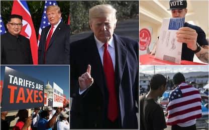 Da Kim allo shutdown: il secondo anno di Trump alla Casa Bianca