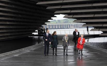 William e Kate inaugurano il museo del design a Dundee