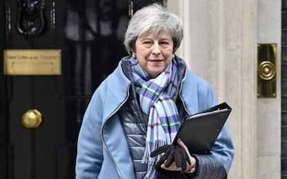 "Brexit, May: ""Pronta a tornare a Bruxelles per rinegoziare backstop"""