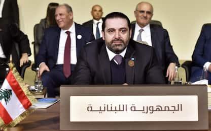 Libano, il premier Hariri si è dimesso. VIDEO