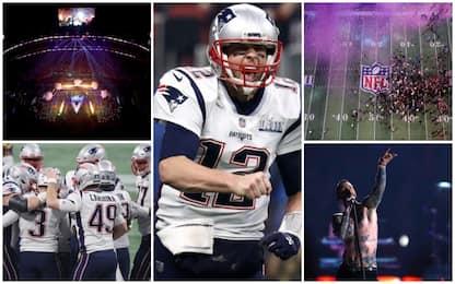 Super Bowl 2019, vincono i New England Patriots