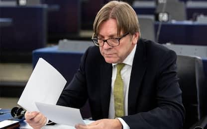 """Verhofstadt: """"Conte burattino mosso da Salvini e Di Maio"""""""