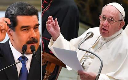 "Papa Francesco, lettera a Maduro: ""Accordi disattesi"""
