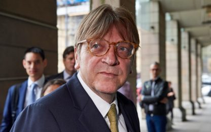 Chi è Guy Verhofstadt, presidente dell'Alde al Parlamento Ue