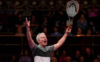 John McEnroe: compie 60 anni la leggenda del tennis. FOTO