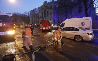 """Russia, crolla edificio universitario: """"20 persone sotto macerie"""""""