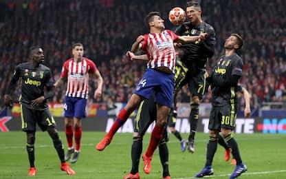 Champions League, Atletico Madrid-Juventus 2-0: gol e highlights