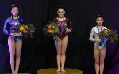Ginnastica artistica, Vanessa Ferrari vince l'oro a Melbourne