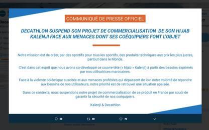 Francia, polemiche per hijab da corsa: Decathlon sospende la vendita
