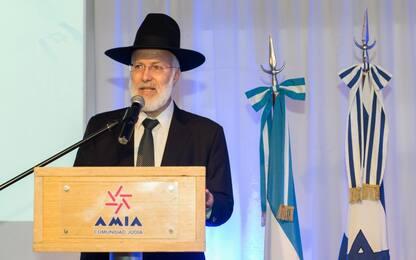 Argentina, rabbino capo aggredito e picchiato in casa