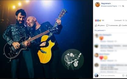 Negramaro, Lele Spedicato a sorpresa sul palco durante live a Milano