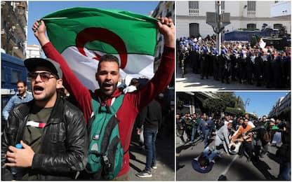 Algeria, proteste contro la ricandidatura di Bouteflika: un morto