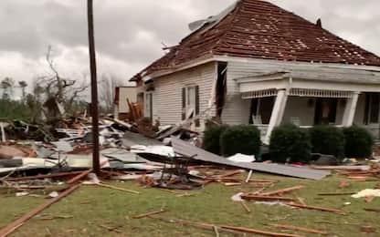 Usa: tornado in Alabama, almeno 23 morti