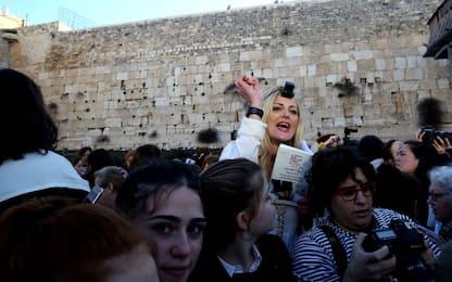 Gerusalemme, scontri al Muro del Pianto per preghiera donne