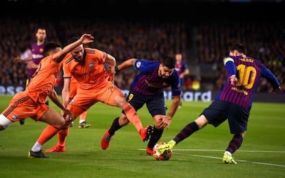 Champions League, Barcellona-Lione 5-1: gol e highlights