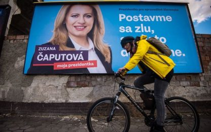 Slovacchia, Zuzana Caputova è la prima presidente donna