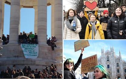 Sciopero e manifestazione per il clima del 15 marzo