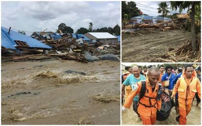 Indonesia, alluvioni e frane: almeno 80 morti e decine di dispersi