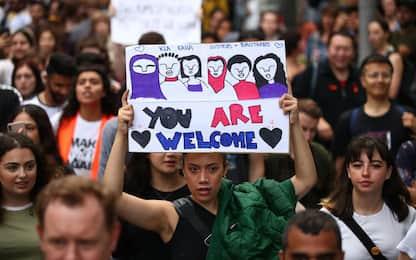 A Melbourne una manifestazione contro razzismo islamofobia