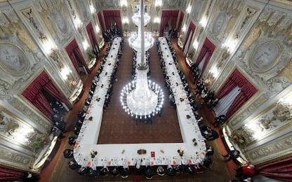 Visita del presidente cinese Xi a Roma, la cena al Quirinale