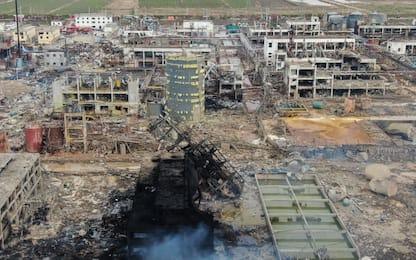 Cina, impianto chimico esploso: bilancio sale a oltre 60 morti