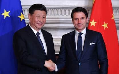 Firmato il Memorandum: stretta di mano tra Conte e Xi. FOTO