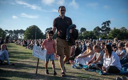 Nuova Zelanda, 40mila alla veglia per vittime della strage