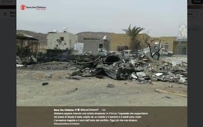 Yemen, raid aereo contro ospedale di Save the Children: 7 morti