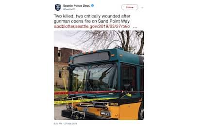 Seattle, 33enne spara per strada: due morti e due feriti