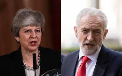 Brexit, May apre al dialogo con i laburisti: incontro con Corbyn
