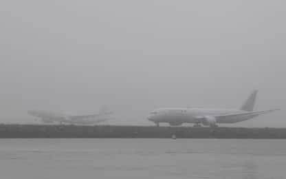 Sydney, la nebbia causa ritardi e cancellazioni di voli