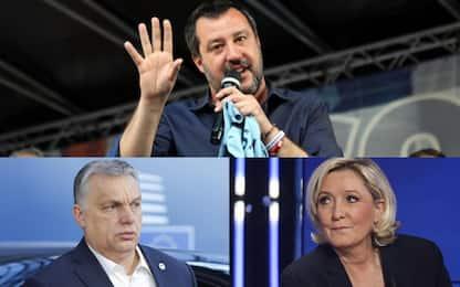 Incontro sovranisti con Salvini, Le Pen e Orban non ci saranno