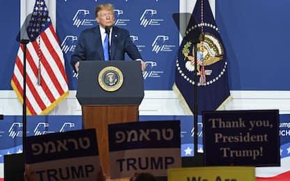 "Trump deride migranti e deputata dem musulmana: ""Non le piace Israele"""