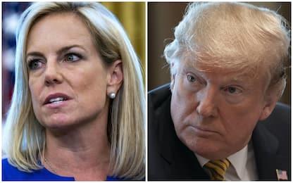 Usa, Trump silura la ministra dell'Interno e il capo Secret Service