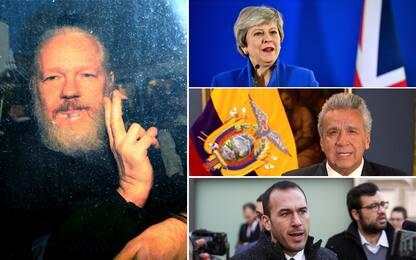 """Arresto Assange, May: """"Nessuno sopra legge"""". Di Stefano: """"Liberatelo"""""""