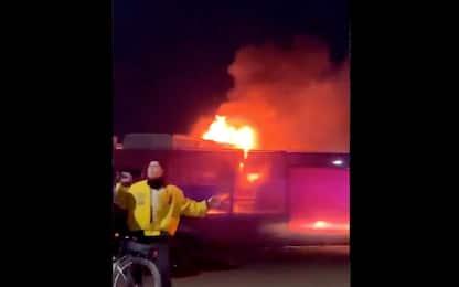 Coachella, incendio nella prima serata del festival in California