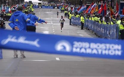 Maratona di Boston 2019, le foto più belle