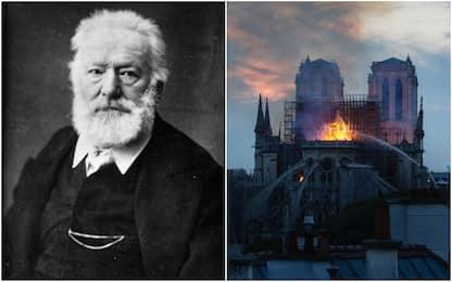 Notre Dame, Victor Hugo aveva immaginato l'incendio della cattedrale