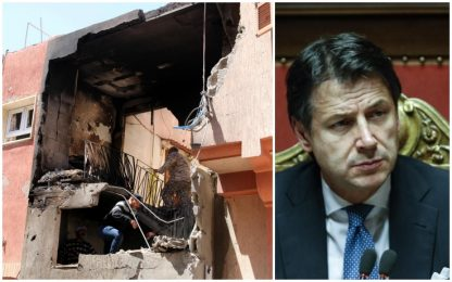 Libia, Conte: nessun rischio migranti. Salvini: no porti aperti