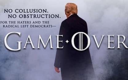 Trump usa Game of Thrones per un tweet sul Russiagate