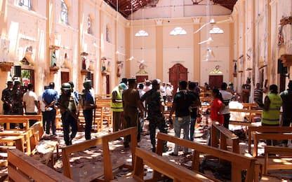 Sri Lanka, esplosioni in diverse chiese e hotel: le FOTO