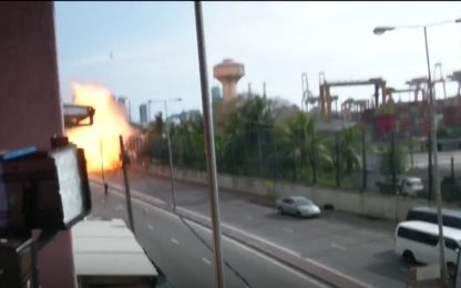 Attentati Sri Lanka, nuova esplosione vicino a una chiesa. VIDEO