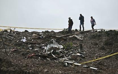 Colombia, valanga su un villaggio: 17 morti. FOTO