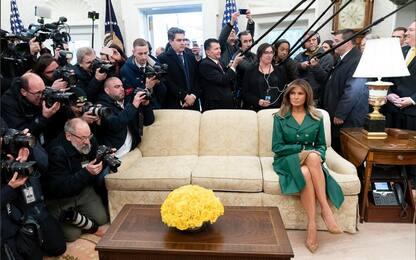Melania Trump, la foto del compleanno diventa virale